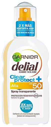 Garnier Delial Spray Protector Transparente, FPS50 - 20 cl