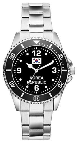 Korea Geschenk Artikel Idee Fan Uhr 6341