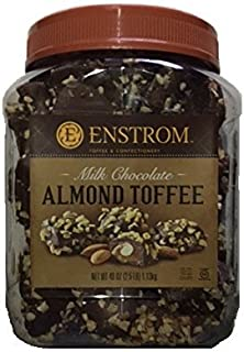 Enstrom Milk Chocolate Almond Toffee 2.5lb