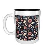 Acuarela Sea Life mejor idea regalo de cumpleaños para tazas de porcelana
