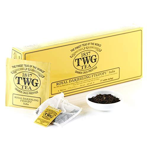TWG Tea |Royal Darjeeling FTGFOP1(コットンティーバッグ, 2.5g×15個入り)