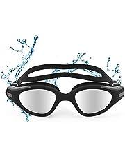 Funní Día Zwemmen Goggles, Geen Lekkende Anti-Fog UV Bescherming Crystal Clear Vision Triatlon Zwemmen Goggles voor Volwassen Mannen Vrouwen Jeugd Tieners