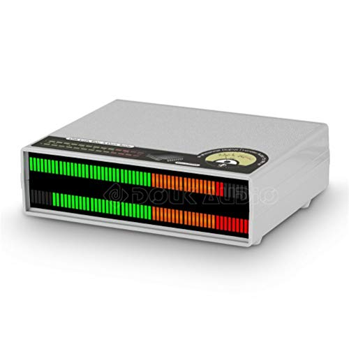 KDLK 56 bit Mic LED Music Audio Spectrum Display Nivel De Sonido Estéreo VU Meter Lámparas De Audio para Amplificadores