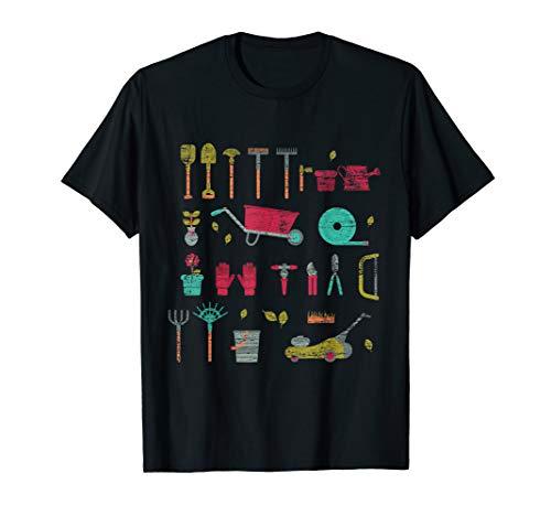 Garten Werkzeug Gartenarbeit Geschenk für Gärtner T-Shirt