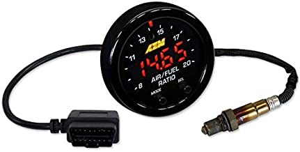 AEM X-Series Wideband UEGO AFR Sensor Controller Gauge with OBDII Connectivity