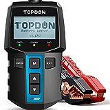 TOPDON BT100 12V KFZ Batterietester, 100-2000 CCA Autobatterie-Tester Ladesystem Analysator Professional für PKW-LKW ATV SUV Boot
