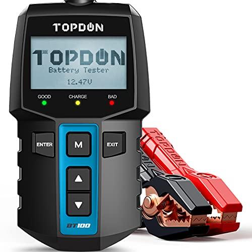 TOPDON BT100 - Tester per batteria auto, 12 V, 100...