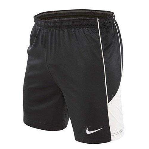 NIKE Team TR Lined–Pantalones Cortos, Todo el año, Hombre, Color Negro - Negro/Blanco, tamaño L