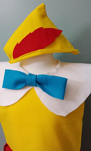 Pinocchio Costume Set - Baby / Toddler / Kids / Teen / Adult Sizes