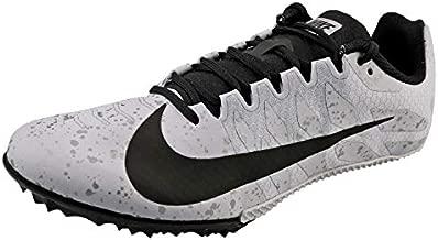 Nike Unisex Zoom Rival S 9 Track Spike Pure Platinum/Metallic Silver/Black 10.5 Women/9 Men