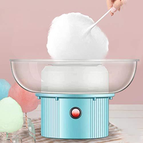 Zuckerwatte-Maschine, Zuckerwatte-Hersteller 28x28x17cm Mini-Zuckerwatte-Hersteller für Kinder, elektrische Marshmallows-Maschine Edelstahl-Bodennut, tragbare Marshmallow-Maschine für den Kindertag