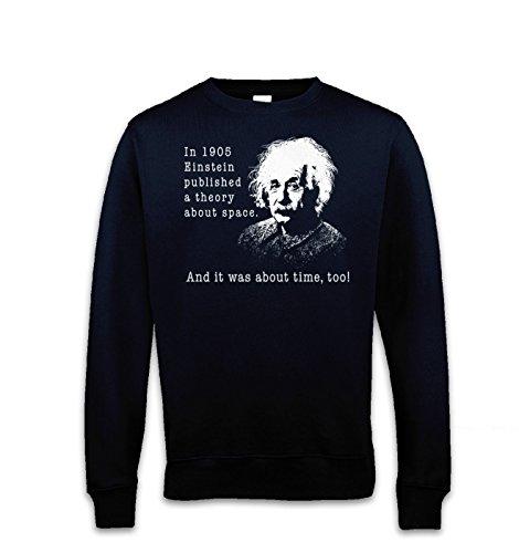 Einstein Had A Theory Sweat-shirt - Bleu - Medium