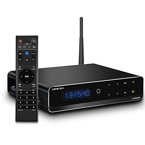 Android TV Box - Himedia Q10 PRO -3.5 HDD Bay, MINI PC...