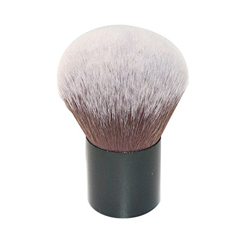 Demarkt Foundation Pinsel Kabuki Pinsel Bürste Foundation Puderpinsel Make up Werkzeug Schwarz A