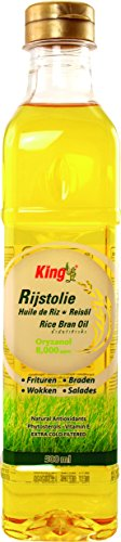 King - Aceite de arroz (6 unidades de 500 ml)