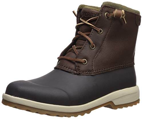 Sperry Women's Maritime Repel Snow Boot, Dark Brown, 10 M US