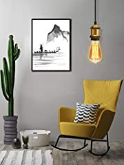 Vintage Pendant Light Plug in Fitting Licperron Industrial Style Hanging Light Kit with Retro E27 Lamp Socket 4 Meter Plug in Cord with On/Off Switch 1 Pack #5