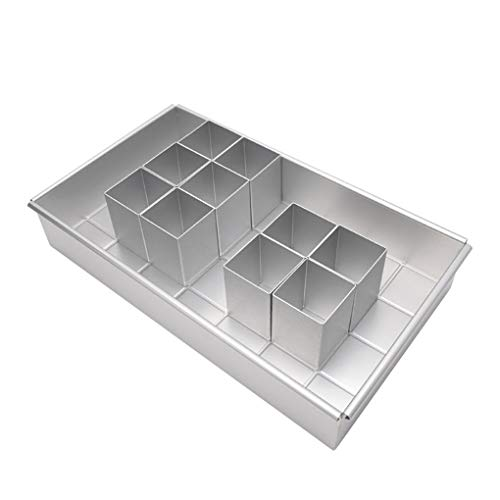 NAYUKY Kuchen-Form Verstellbare...
