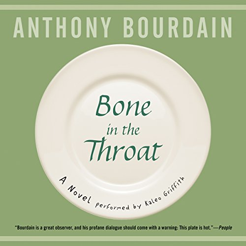 Bone in the Throat audiobook cover art