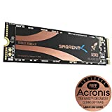 Sabrent 500GB Rocket Nvme PCIe 4.0 M.2 2280 intern SSD Maximale Performance Solid State Drive (SB-ROCKET-NVMe4-500)