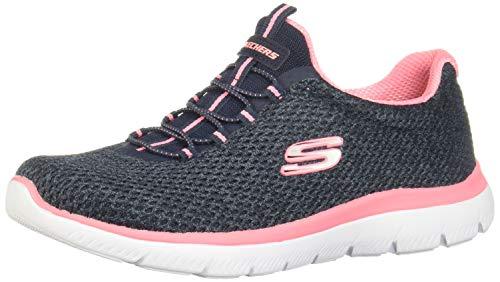 Skechers Summits-Striding, Zapatillas para Mujer, Azul, 41 EU