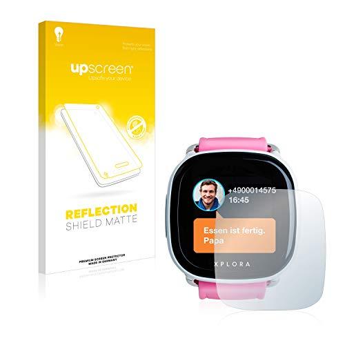 upscreen Entspiegelungs-Schutzfolie kompatibel mit Xplora Go Kids – Anti-Reflex Bildschirmschutz-Folie Matt