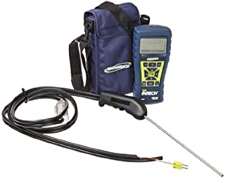 Bacharach Fyrite InTech 0024-8511 Residential Combustion Analyzer with CO Sensor, O2 Sensor, Probe, 4 AA Batteries and Soft-Carry Case by Bacharach