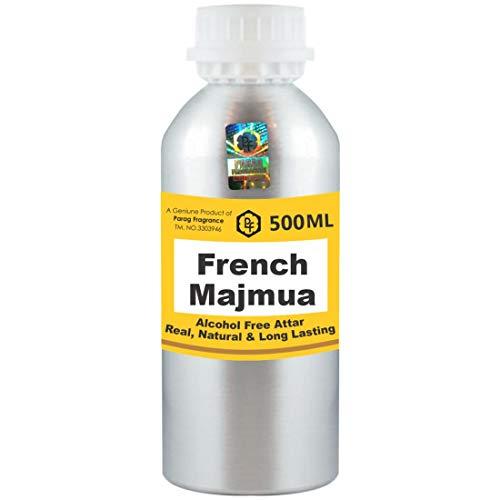 Parag Fragrances Majmua Attar Lot de 500 ml sans alcool pour homme et femme Utilisation religieuse
