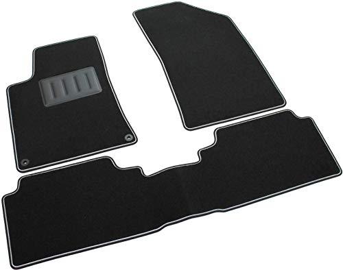 SPRINT03518 Tapis de sol pour voiture, antidérapants, noirs