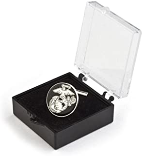 Coins For Anything Inc Marine Corps Black EGA Tie-tack w/ Case