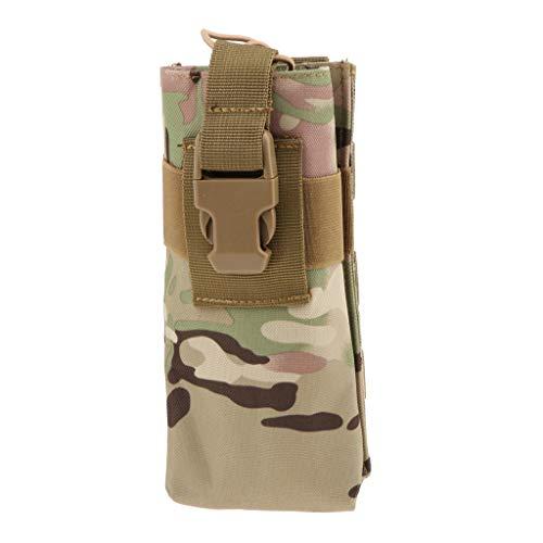 perfk Allzweck Tasche Outdoor Ausrüstung Funkgeräte Tasche Walkie Talkie Nylon Gürteltasche - Typ 5