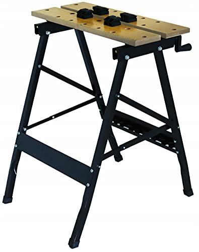 Banco de trabajo plegable de 610 x 320 x 18 mm, tablero de fibra de densidad media, banco de trabajo, mesa de garaje