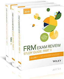 Wiley 2018 Part II FRM Exam Study Guide & Practice Question Pack