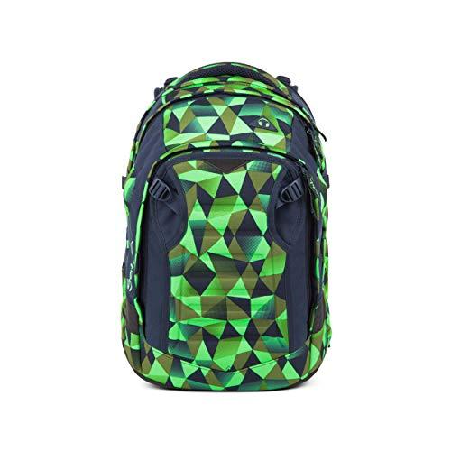 satch Match, Fresh Crush ergonomischer Schulrucksack, erweiterbar auf 35 Liter, extra Fronttasche