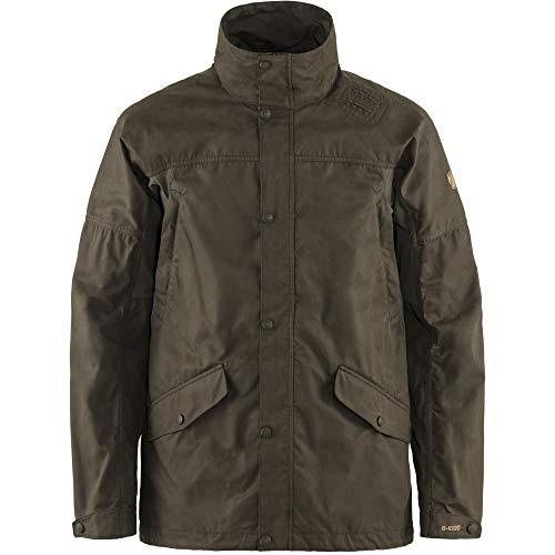 Fjällräven Mens Forest Hybrid Jacket M, Dark Olive, XL