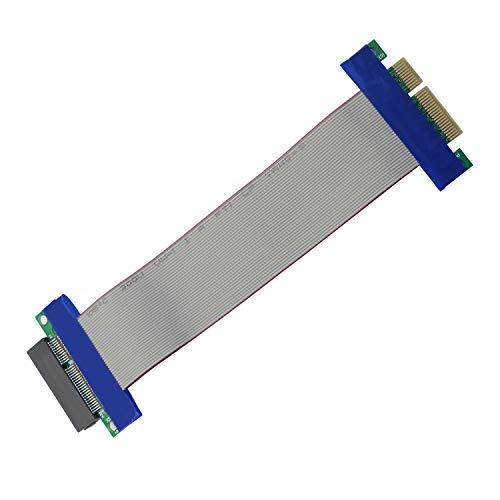 Honglei Cable de extensión PCIE, Cable Elevador PCI-Express 4X Macho a Hembra...