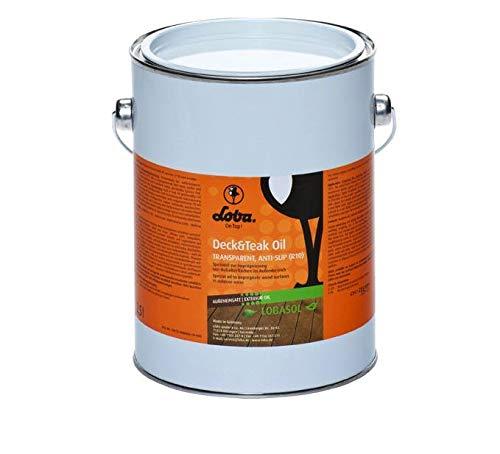 LOBA Deck & Teak Oil transparent 2,5 l
