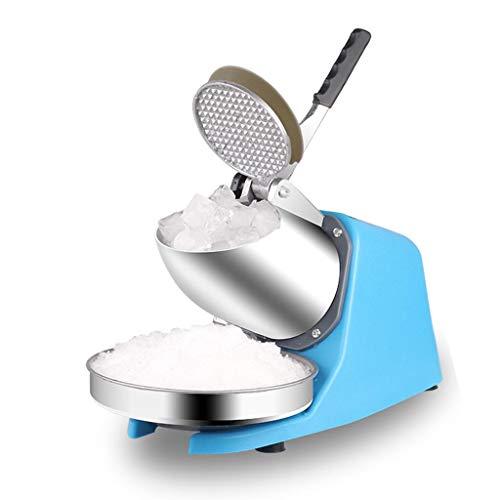 LIU UK Ice Crusher Trituradora De Hielo De Acero Inoxidable, Máquina De...