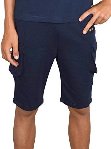 BEZLIT Jungen Shorts Kinder Kurze-Hose Cargo Capri Short Hosen Strech 30079 Navy 116/122
