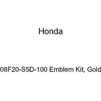Genuine Honda 08F20-S9A-100 Emblem Kit Gold
