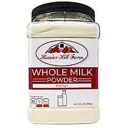 commercial Hoosier Hill Farm All-American milk powder, 2 lbs. hoosier hill farm