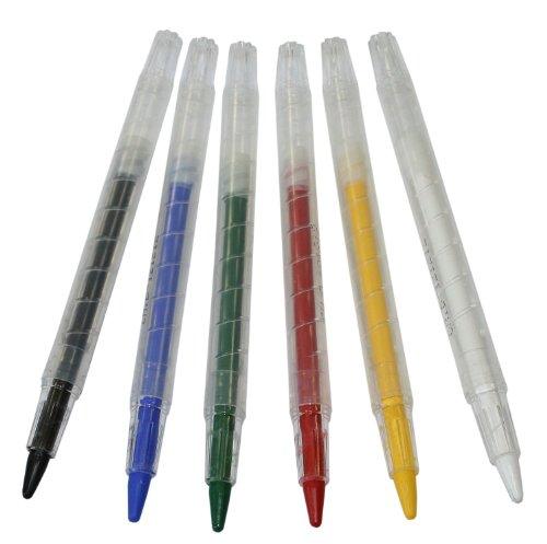 Eulenspiegel Schminkstifte Color Twister, 6er Set