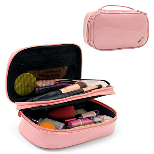 Relavel Makeup Bag Small Travel Cosmetic Bag for Women Girls Makeup Brushes Bag Portable