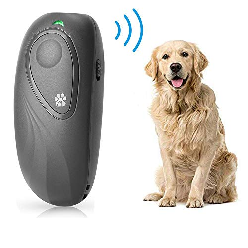 BIG DEAL Ultrasonic Bark Control Device, Hand-held Anti Barking Devices Variable Frequency Stop Dog Barking Device, Dog Barking Deterrent for Dog Behavior Training, Dog Repellent & Barking Control
