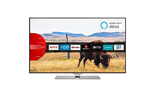 JVC TV Smart da 55   UHD 4K , LT-55VUQ73I, serie 2019 [Esclusiva Amazon.it] [Classe di efficienza energetica A]