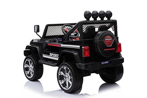 RC Auto kaufen Kinderauto Bild 2: Toyas Cobra Off Road SUV Jeep Kinderauto Kinderfahrzeug Elektrofahrzeu Geländewagen 4 x 45 W Motor S2388b*
