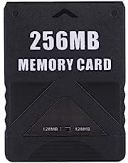 Tihebeyan Tarjeta de Memoria, Almacenamiento de la Tarjeta de Memoria de Alta Velocidad 8-256M para Juegos de Sony Playstation PS2 McBoot(256M)