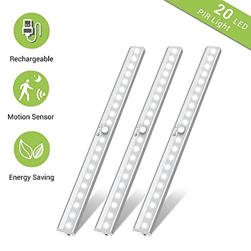 OxyLED Motion Sensor Closet Lights + Under Cabinet Lighting