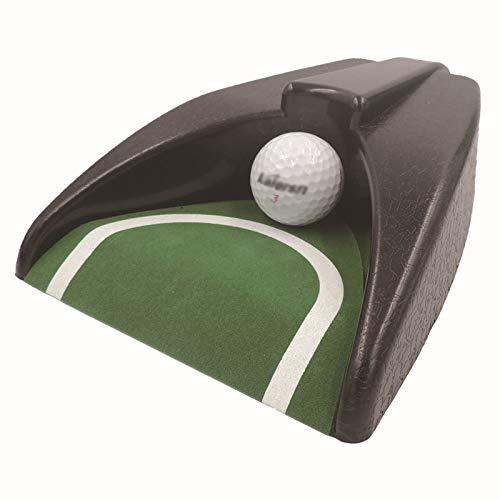 FASZFSAF Taza Golf AutomáTica, MáQuina Retorno Golf Entrenamiento en Oficinas Interiores, PráCtica Retorno AutomáTico Agujero Golf CéSped JardíN Al Aire Libre