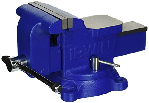 IRWIN Table Vise, Heavy-Duty, 6-Inch (226306ZR)